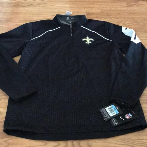 promo code bfb52 3105b Nike NFL Saints Jacket Size Medium NWT